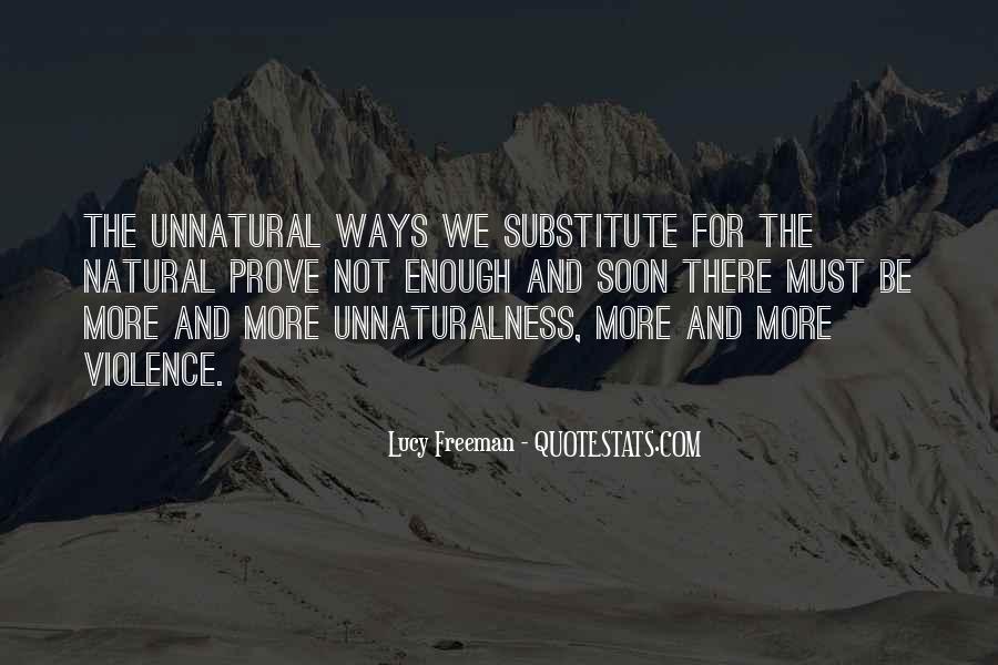 Lucy Freeman Quotes #20660