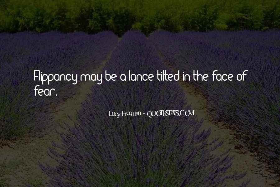 Lucy Freeman Quotes #538344