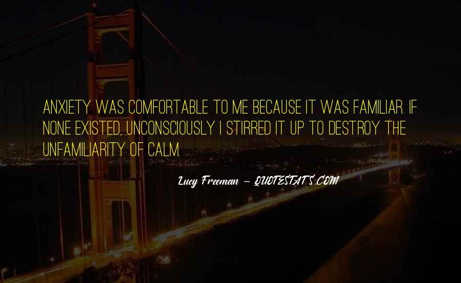 Lucy Freeman Quotes #829341