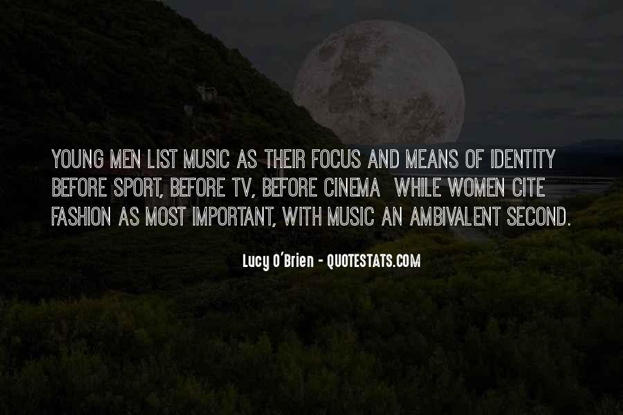 Lucy O'Brien Quotes #379294