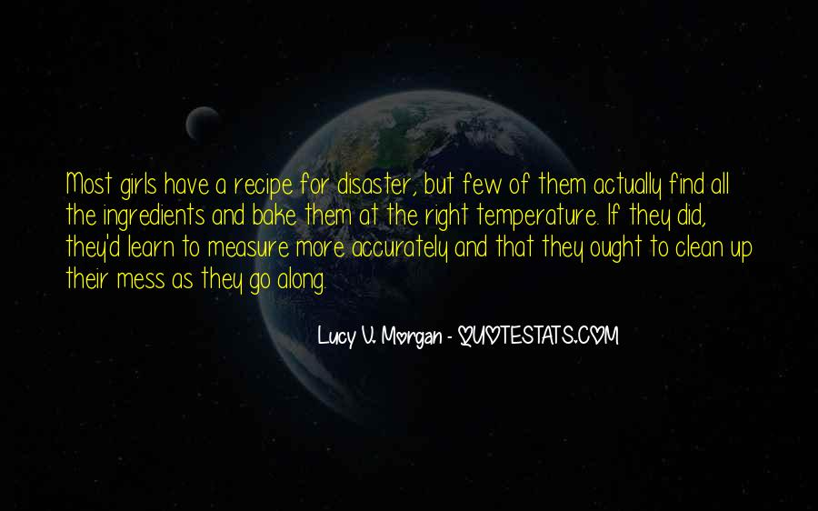 Lucy V. Morgan Quotes #578292