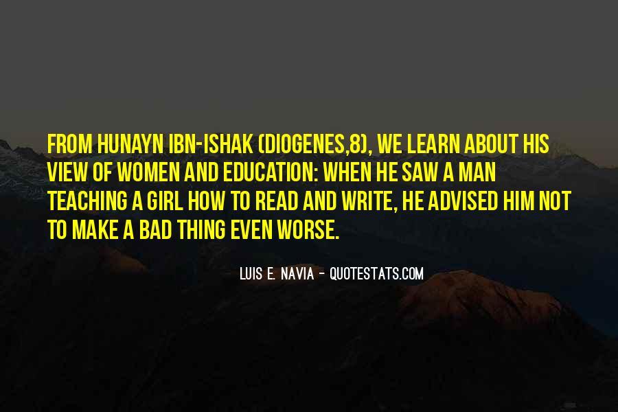 Luis E. Navia Quotes #666577