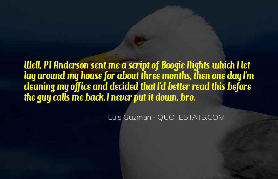 Luis Guzman Quotes #802719