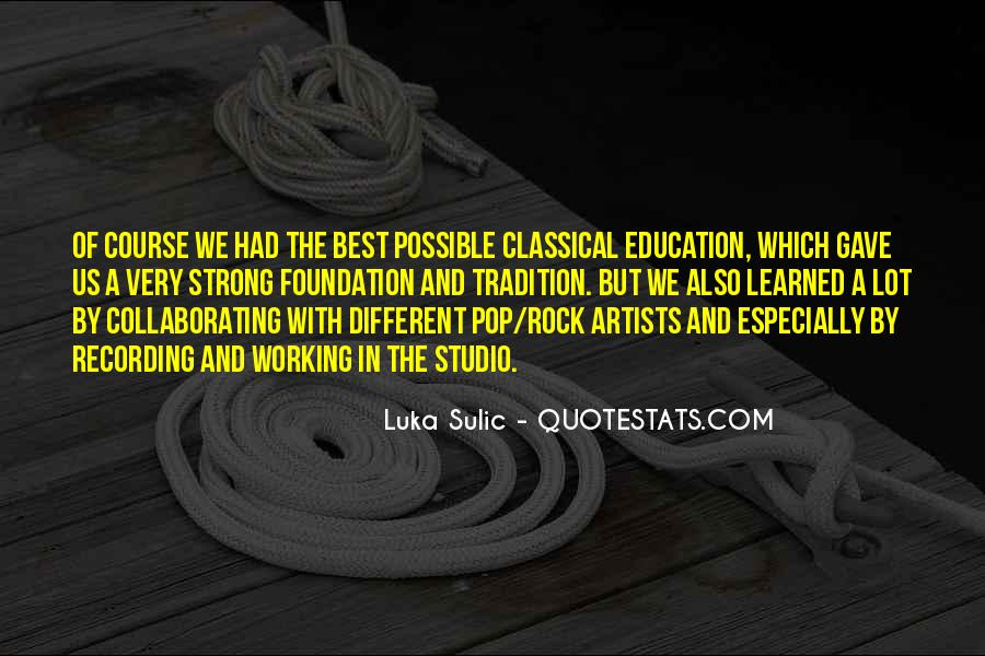 Luka Sulic Quotes #900614