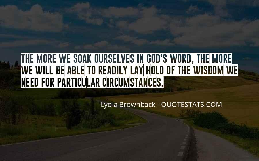 Lydia Brownback Quotes #470844