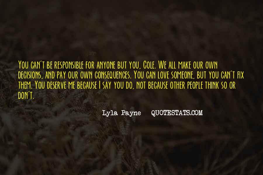 Lyla Payne Quotes #186647
