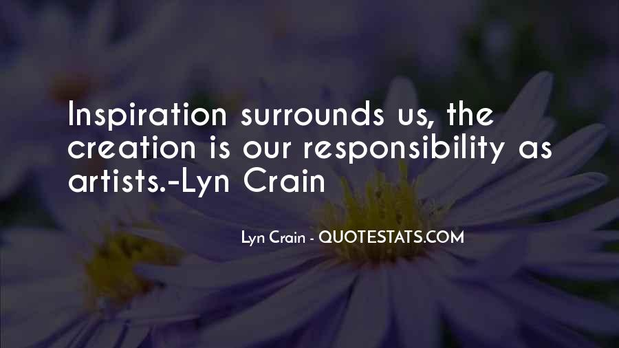 Lyn Crain Quotes #290419