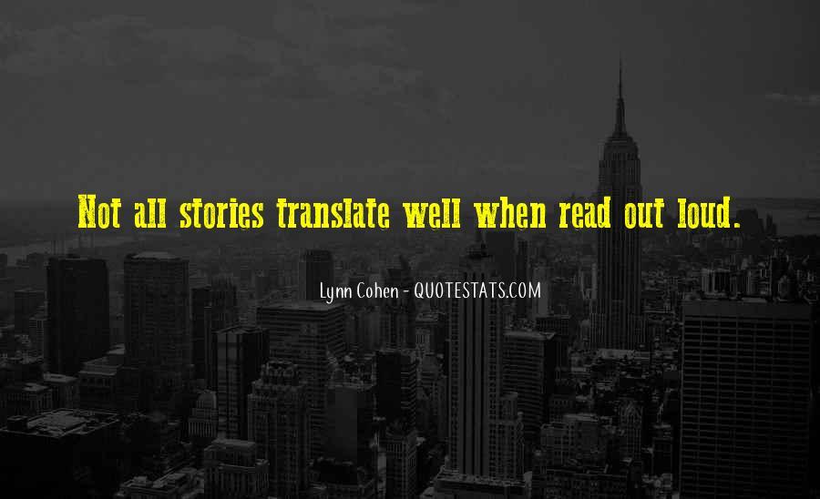 Lynn Cohen Quotes #214703
