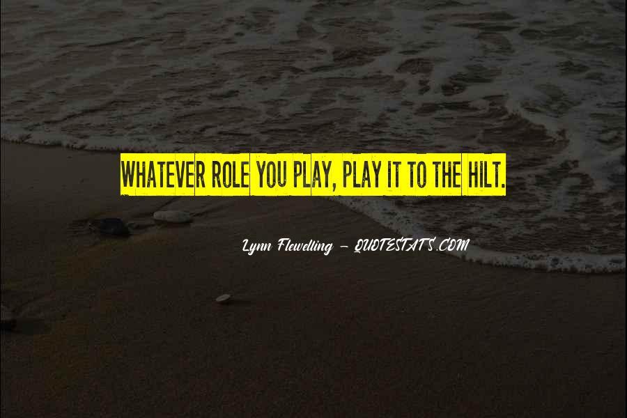 Lynn Flewelling Quotes #1307878