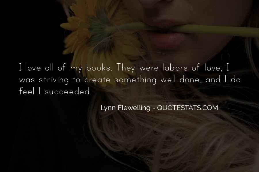 Lynn Flewelling Quotes #1627125