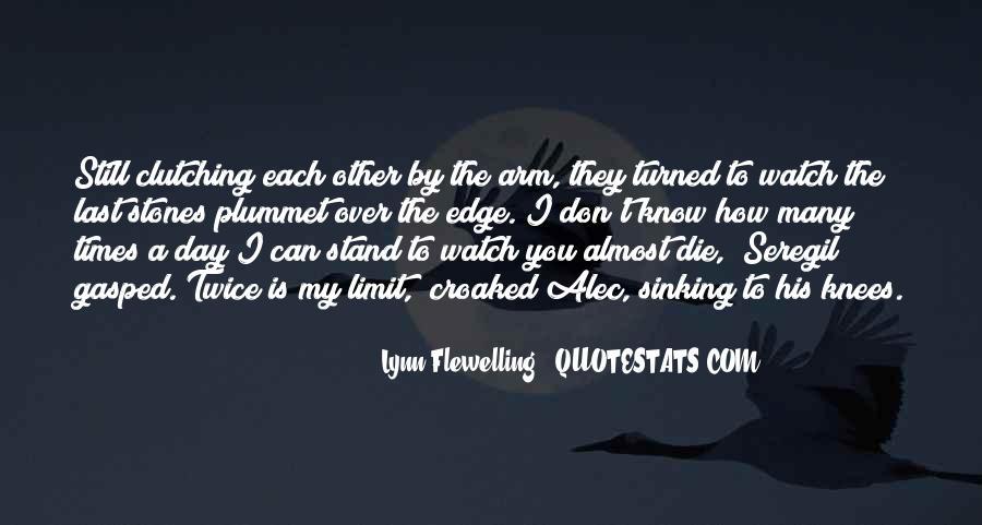 Lynn Flewelling Quotes #660393