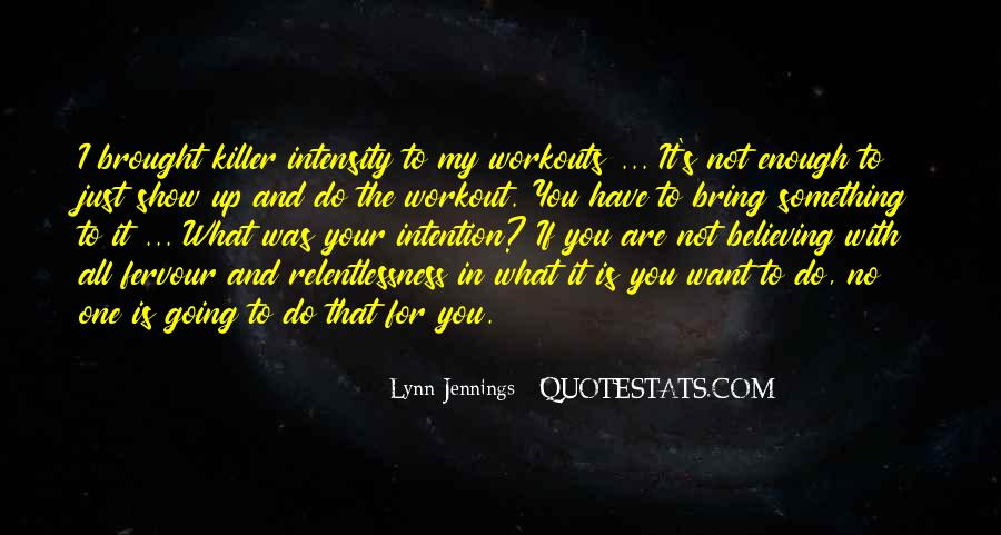Lynn Jennings Quotes #1598239