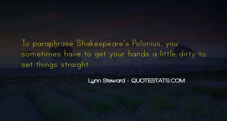 Lynn Steward Quotes #980758