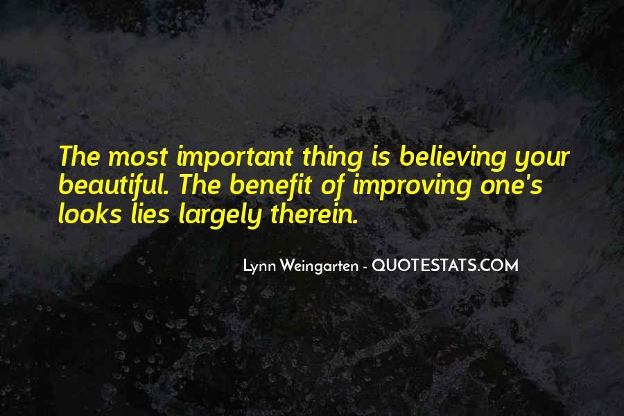 Lynn Weingarten Quotes #1188239