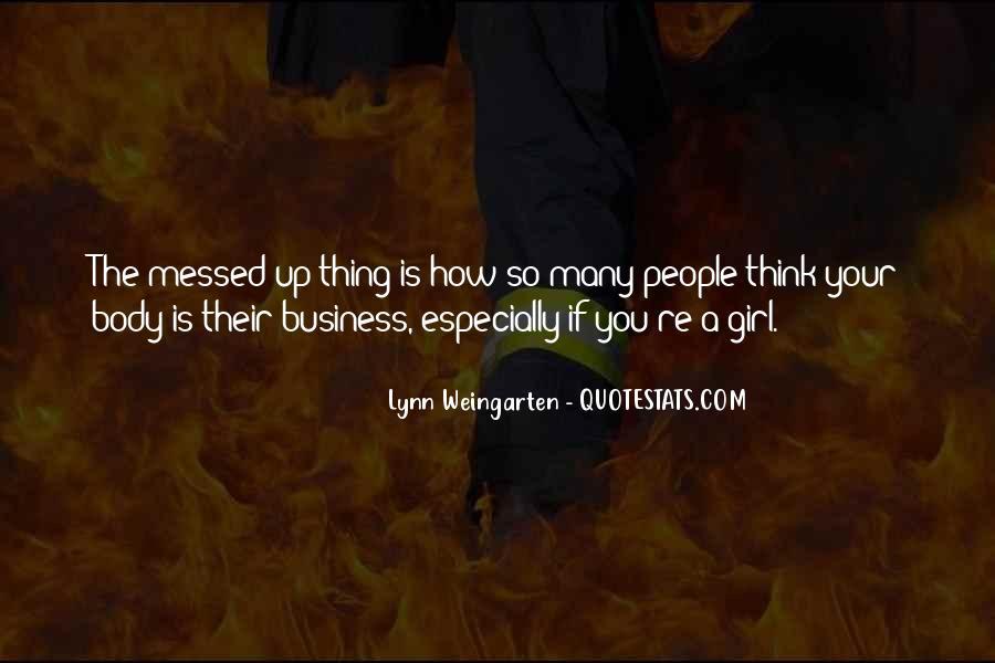 Lynn Weingarten Quotes #1598818