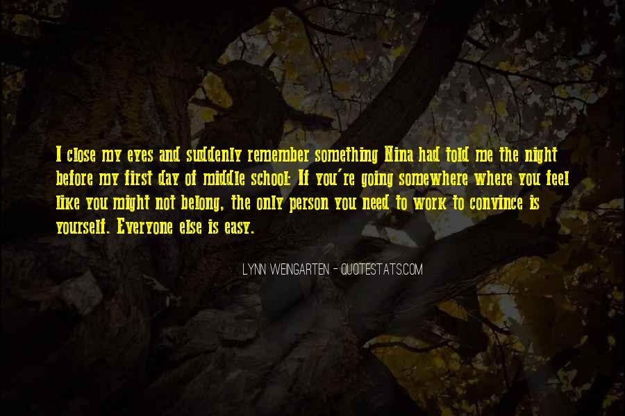 Lynn Weingarten Quotes #314107