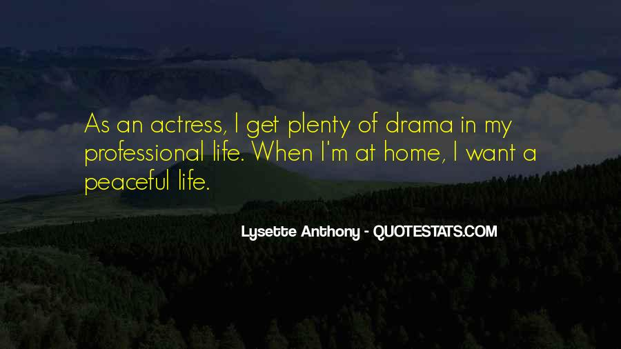Lysette Anthony Quotes #1763668