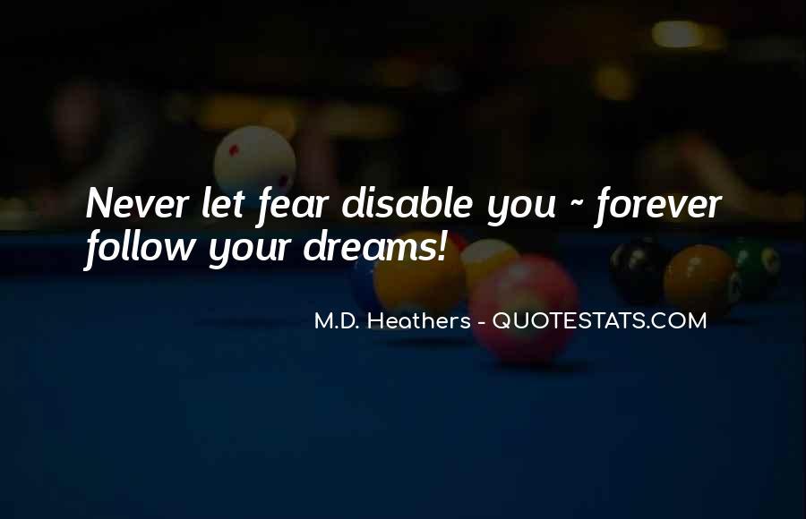 M.D. Heathers Quotes #1509383