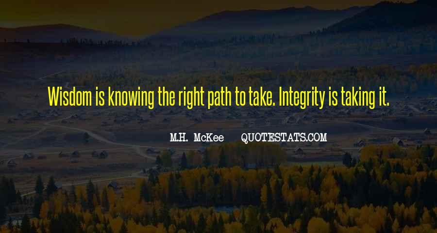 M.H. McKee Quotes #172486