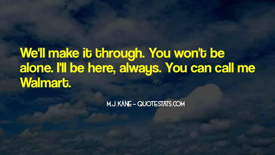 M.J. Kane Quotes #728128