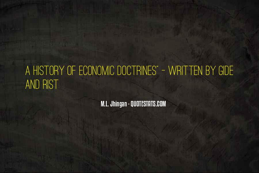 M.L. Jhingan Quotes #375983