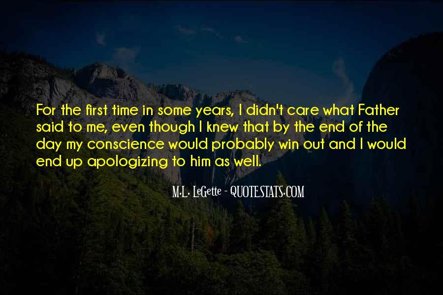 M.L. LeGette Quotes #1275008