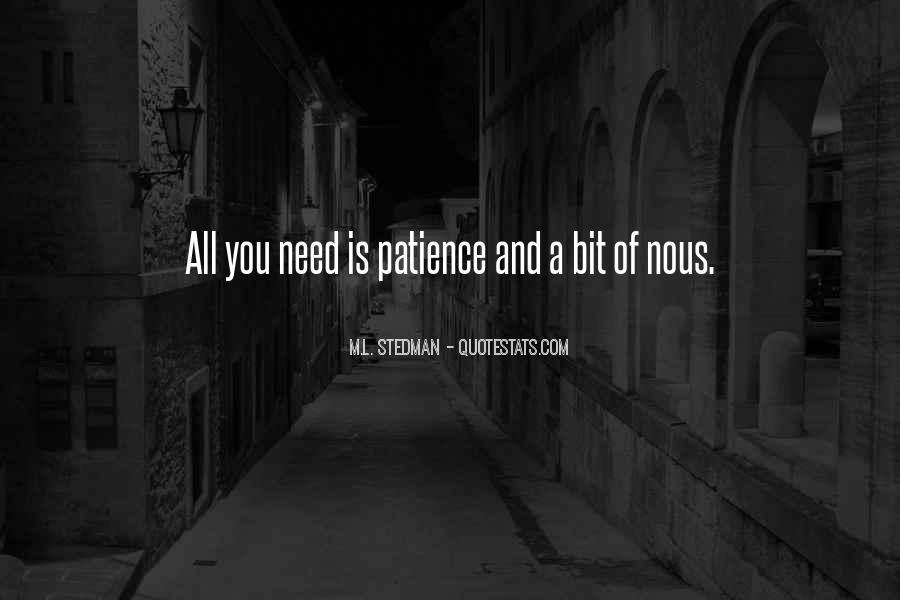 M.L. Stedman Quotes #1400684