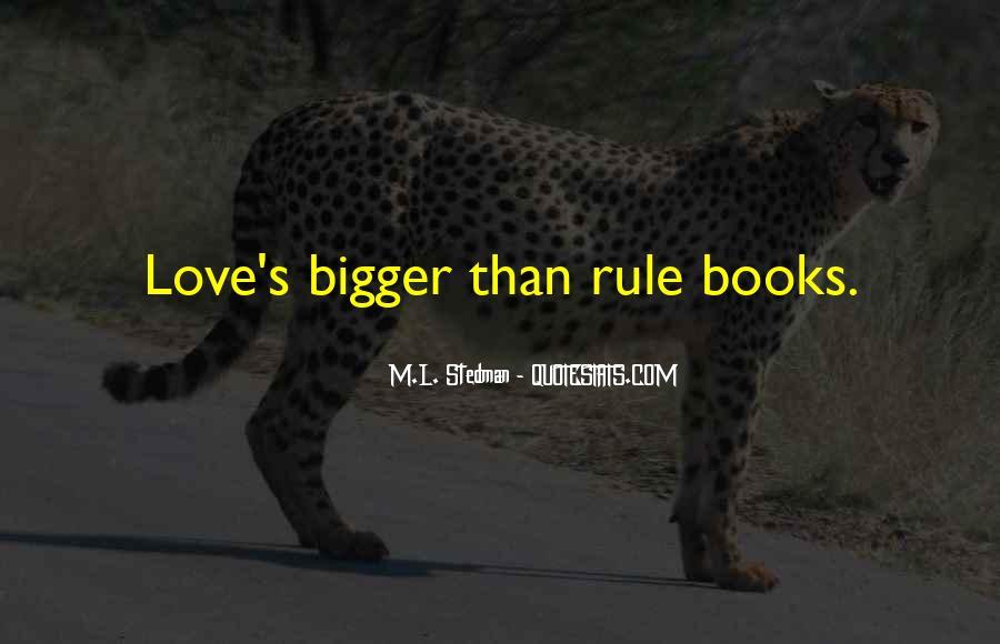 M.L. Stedman Quotes #1524885