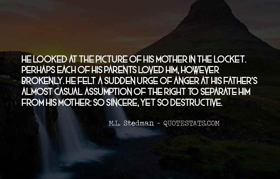 M.L. Stedman Quotes #1615742