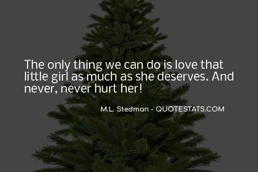M.L. Stedman Quotes #1665098