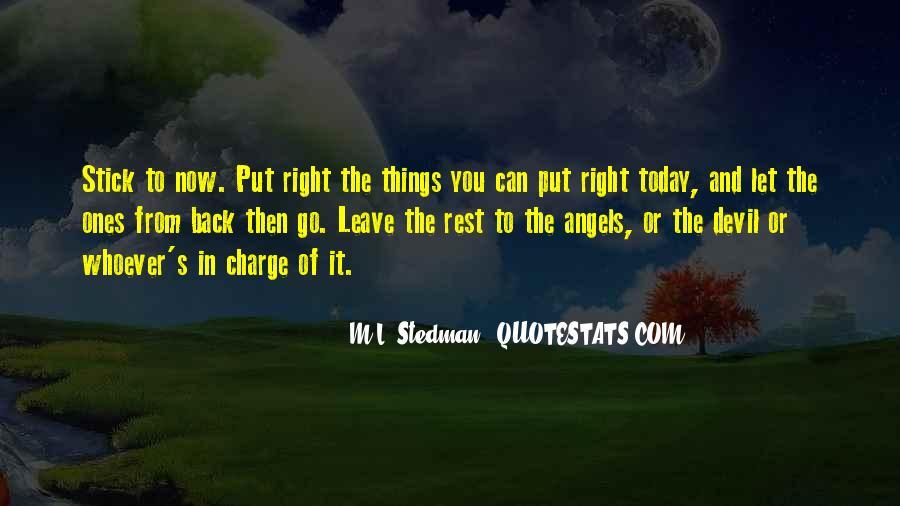 M.L. Stedman Quotes #1774751
