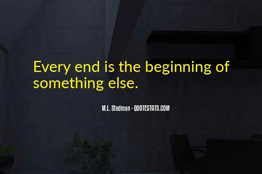 M.L. Stedman Quotes #199263