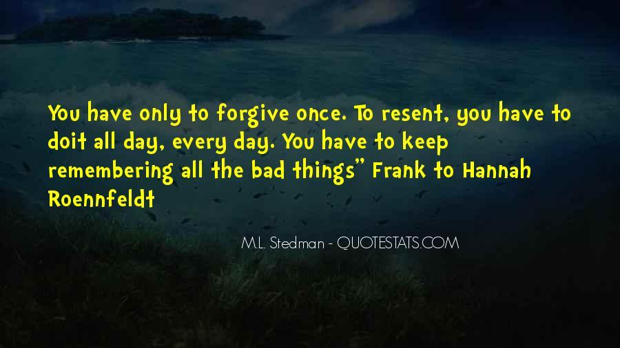 M.L. Stedman Quotes #776697