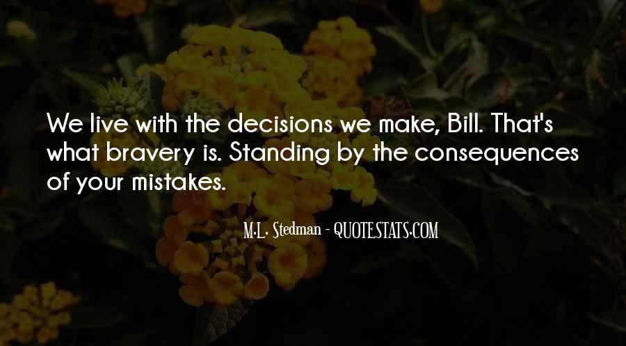 M.L. Stedman Quotes #789958