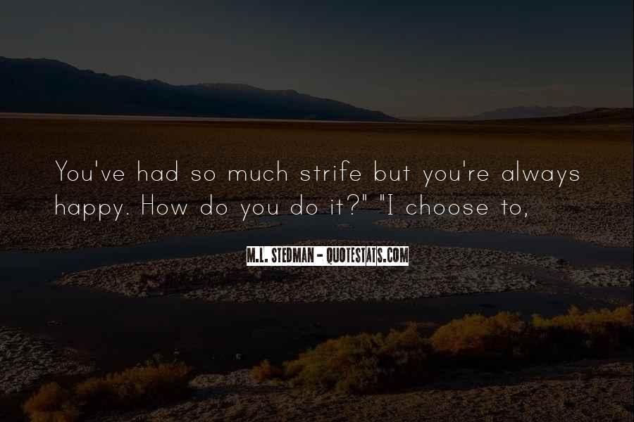 M.L. Stedman Quotes #851746
