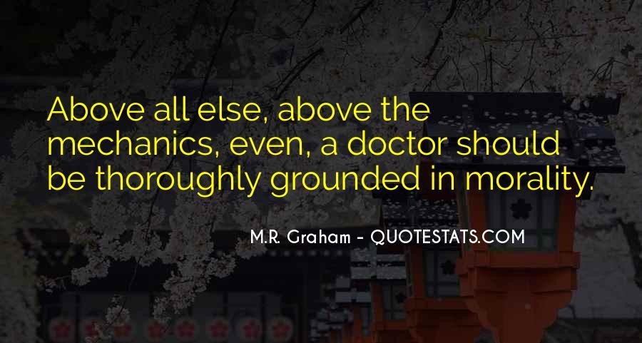 M.R. Graham Quotes #1442997