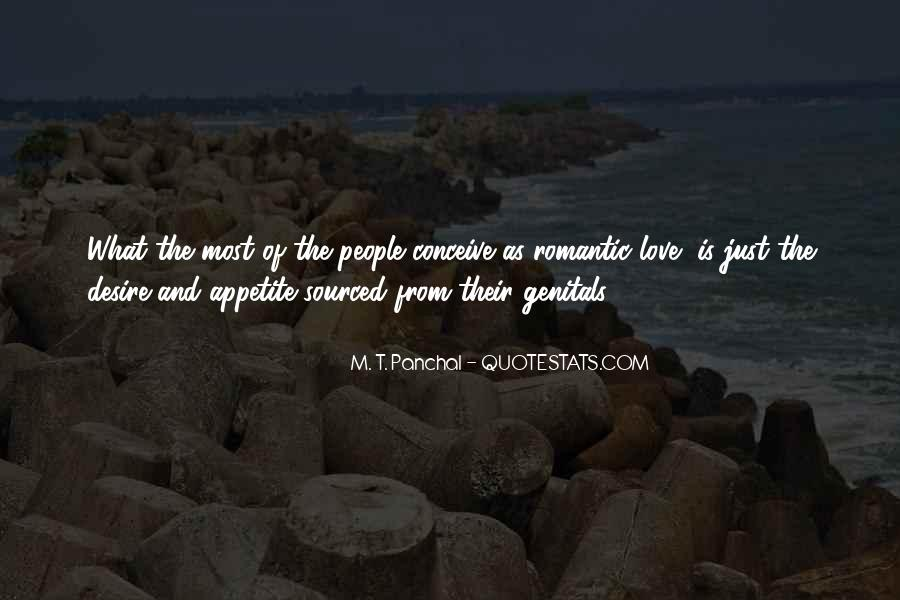 M. T. Panchal Quotes #1582270