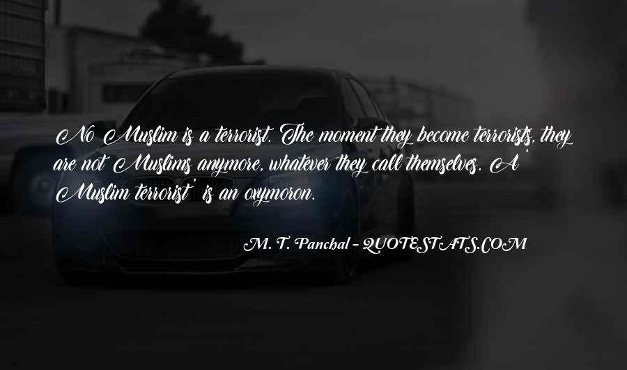M. T. Panchal Quotes #1691700