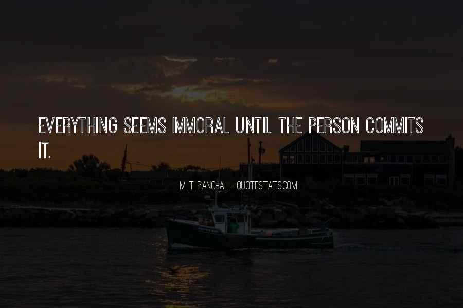 M. T. Panchal Quotes #1796636