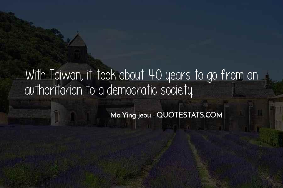 Ma Ying-jeou Quotes #624968