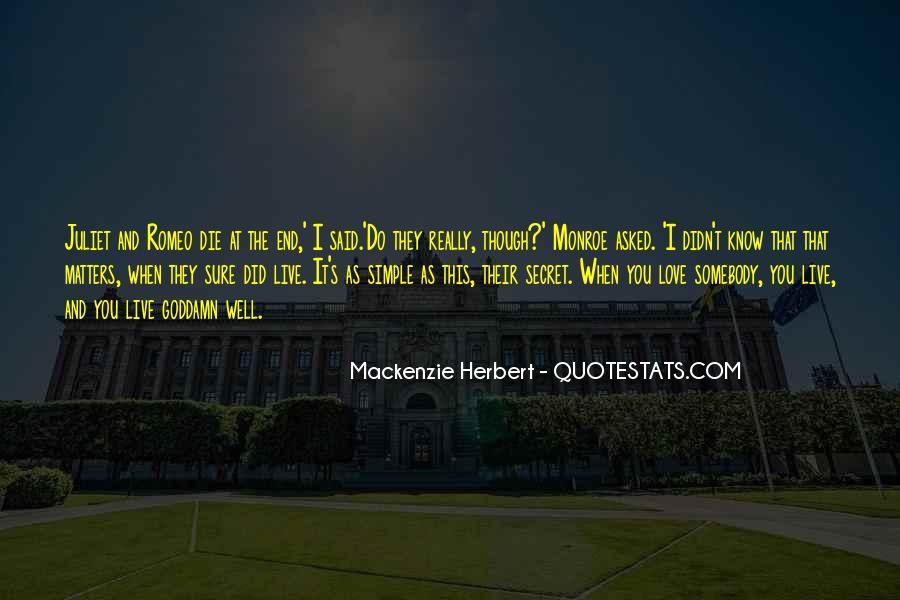 Mackenzie Herbert Quotes #1565387