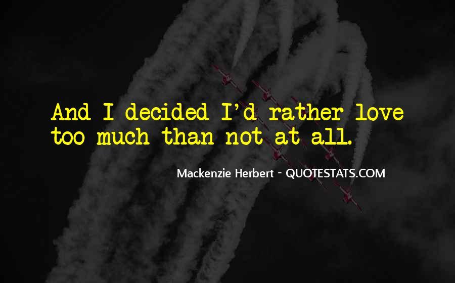 Mackenzie Herbert Quotes #1576101