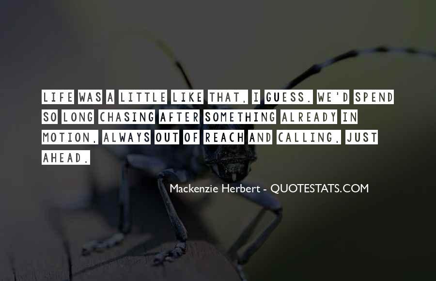 Mackenzie Herbert Quotes #45454