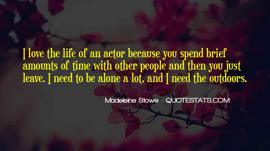 Madeleine Stowe Quotes #1087056