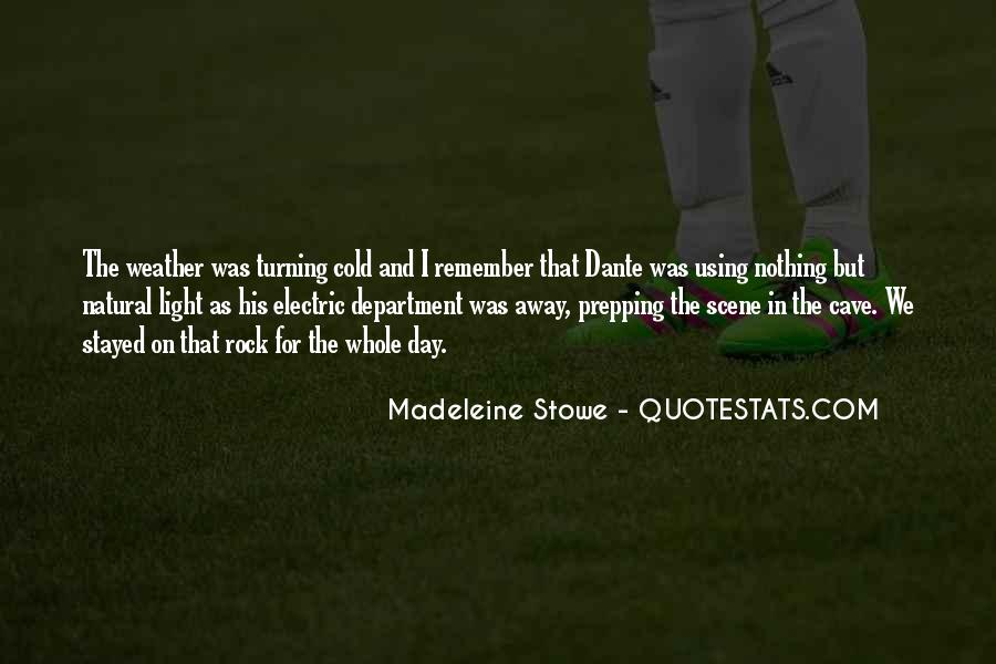 Madeleine Stowe Quotes #133075