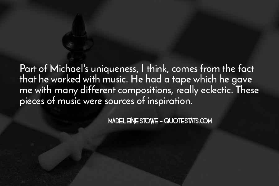 Madeleine Stowe Quotes #1673727