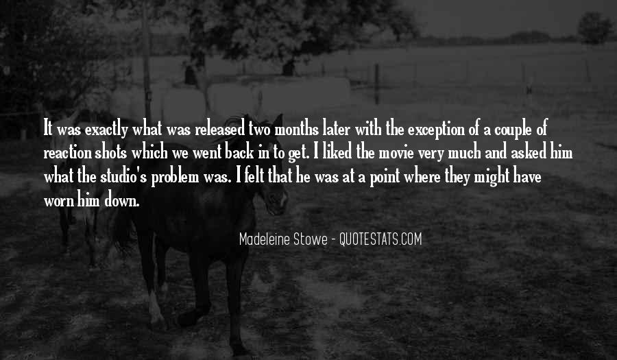 Madeleine Stowe Quotes #1750625