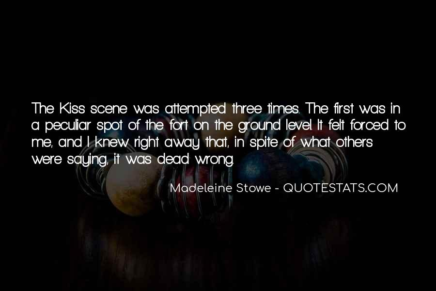 Madeleine Stowe Quotes #769745