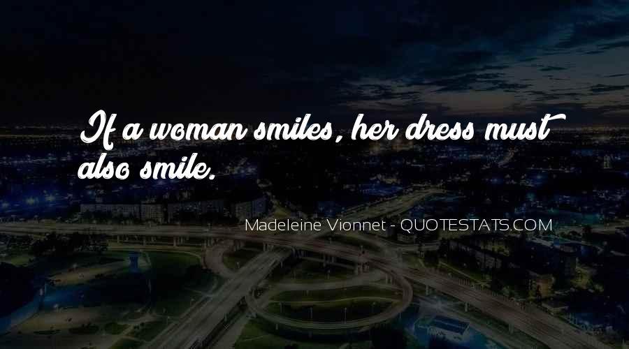 Madeleine Vionnet Quotes #1347688