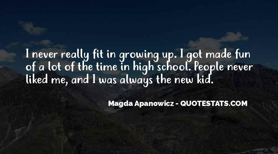 Magda Apanowicz Quotes #630374